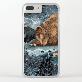 The Lake House Clear iPhone Case