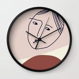 She's only inside her head. Wall Clock