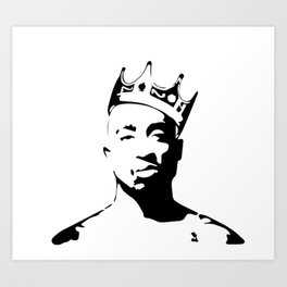 PORTRAIT OF THE BEST RAPPER OF ALL TIMES Art Print