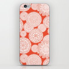 Delightful Doilies - Saffron iPhone & iPod Skin
