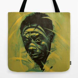 James Baldwin Portrait Tote Bag
