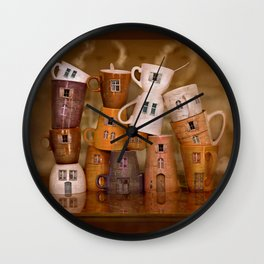Coffeetime ! Wall Clock