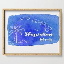 Hawaiian Island Serving Tray