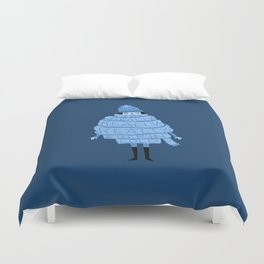 Really Really Really Fucking Cold (Blue) Duvet Cover