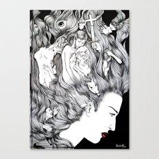 MIND'S EXTASY Canvas Print