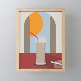 Horchata Framed Mini Art Print