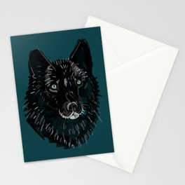 Totem Romeo the wolf Stationery Cards