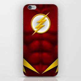 Flash: Superhero Art iPhone Skin