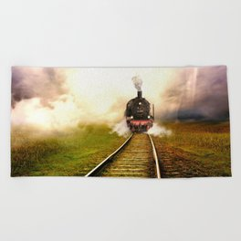 Chuu Chuu Train Beach Towel