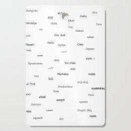Hello word Cutting Board