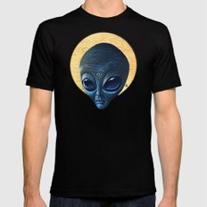 St. Alien Mens Fitted Tee MEDIUM Black