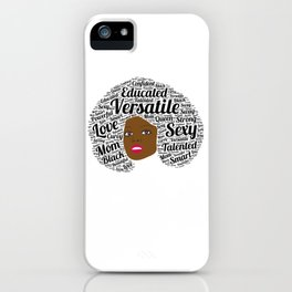 Black History Month African American Black Pride Shirt Light iPhone Case