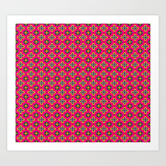 Cute pattern Art Print