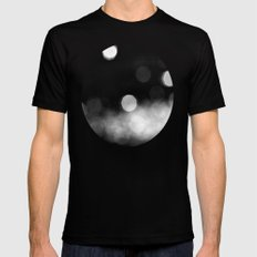 Into the Night MEDIUM Mens Fitted Tee Black