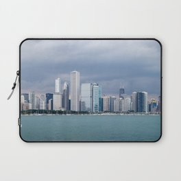 Chicago Skyline Pictures from Michigan Lake Laptop Sleeve