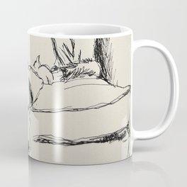 Elwood in a chair Coffee Mug