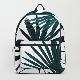 Fan Palm Leaves Jungle #1 #tropical #decor #art #society6 Backpack