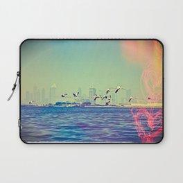 Flamingo Hearts Laptop Sleeve