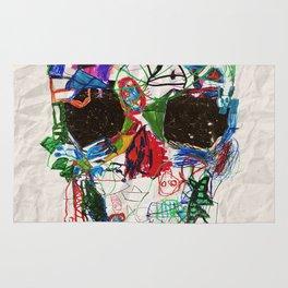Ruzgars Skull Rug