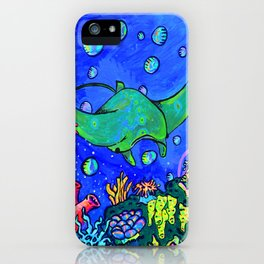 Mr. Ray iPhone Case