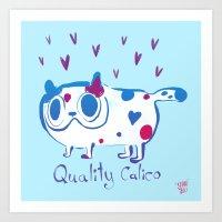 Quality Calico Art Print