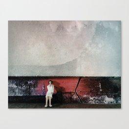 House Disaster Art -  Under Pressure Canvas Print