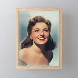 Joan Leslie, Actress Framed Mini Art Print