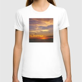 Majestic Sunrise Over South Pacific T-shirt