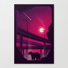 Over Passed Canvas Print