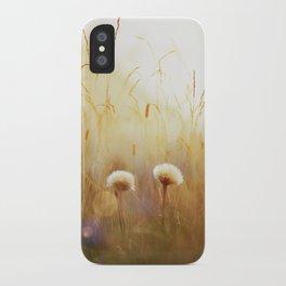 Dandelions iPhone Case