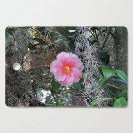 Southern Pink Camellia Cutting Board