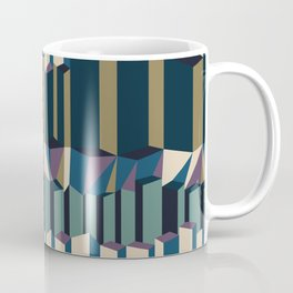 Straight Geometry City 2 Coffee Mug