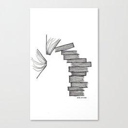 Book Tower Canvas Print