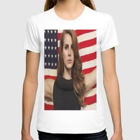 american T-shirts featuring American by Michelle Rosario
