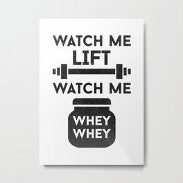 Gym Rat Metal Print