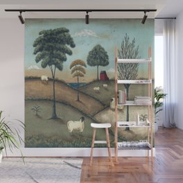 To Everything There is a Season by Donna Atkins Wall Mural