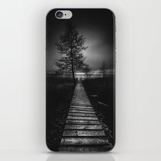 On the wrong side of the lake 9 iPhone & iPod Skin