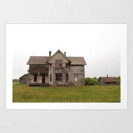 forgotten home Art Print