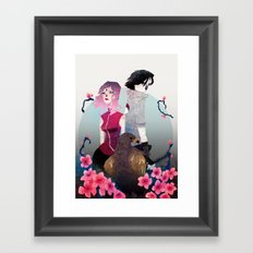 Glory and Gore go hand and hand Framed Art Print
