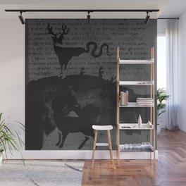 deer forest Wall Mural