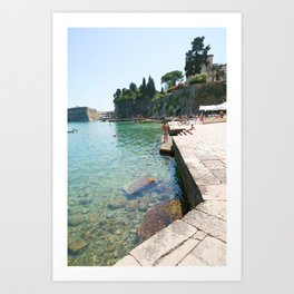 Greece Paradise Art Print