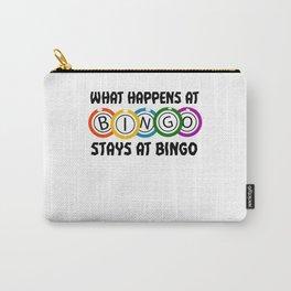 Bingo Bingo Game Bingo Chips Bingo Cards Carry-All Pouch