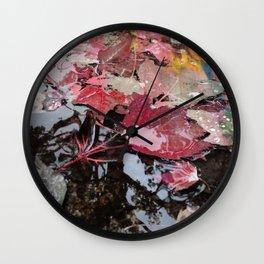 NEW PINK AUTUMN Wall Clock