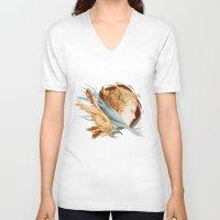 matty healy V-neck T-shirts featuring Harbinger by Jennifer Healy