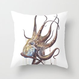 He'e - Octopus Throw Pillow