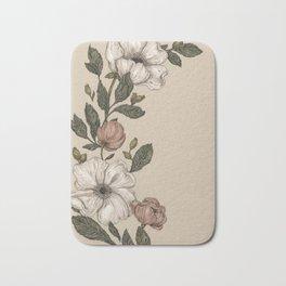 Floral Laurel Bath Mat