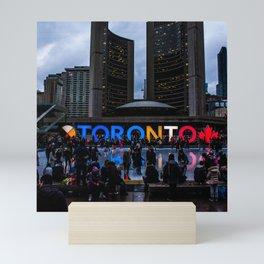 Canada Photography - The Toronto Sign Mini Art Print