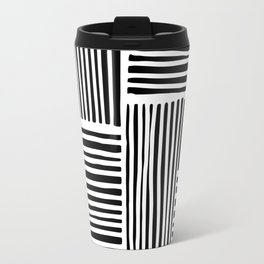 Crossed Lines II Travel Mug