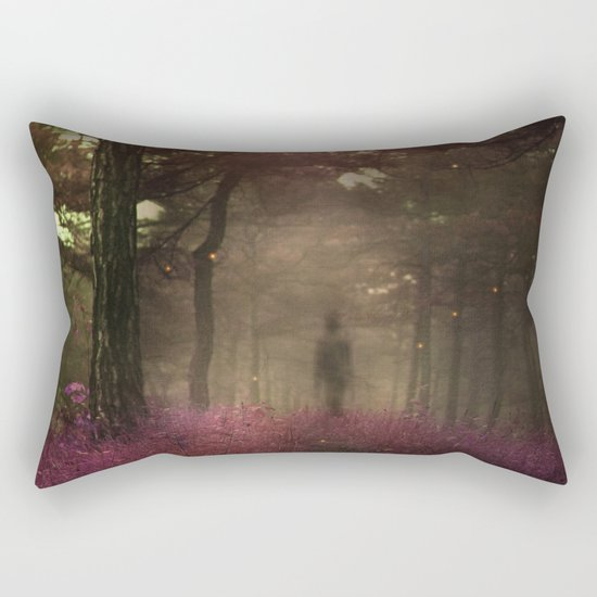 A walk in the forest II Rectangular Pillow