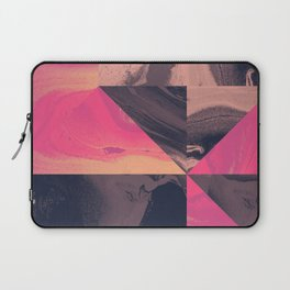 Triangular Magma Laptop Sleeve